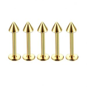 Piercing Labret Oro