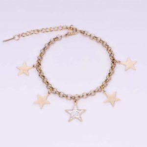 Pulsera Star Oro